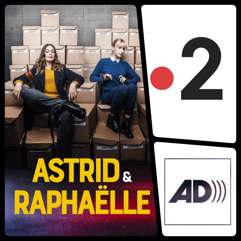 Yopi Sound réalise des mixages audiodescription pour France Télévisions - Astrid & Raphaëlle (saison 2)